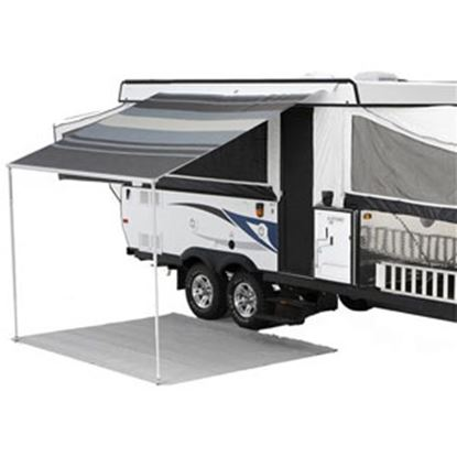 "Picture of Carefree Campout Sierra Brown Vinyl 9' 10""L X 8'Ext Adj Pitch Manual Bag Awning 981188A00 00-1007"