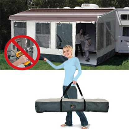 Picture of Carefree Buena Vista Plus Gray Enclosure For 13' Full Size Bag & Box Awnings 224000A 00-1069