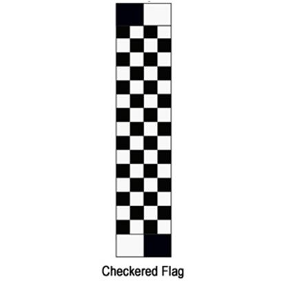 "Picture of Carefree  13' 2"" Checkered Flag w/ W WG Vinyl Patio Awning Fabric JU149A00 00-1622"