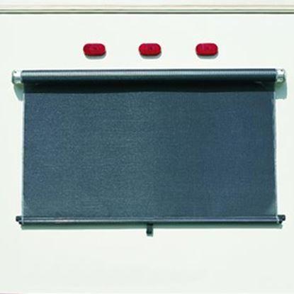 Picture of Carefree SunShades (TM) Black 4-1/2' Rear Window Shade KV0540455 00-6538