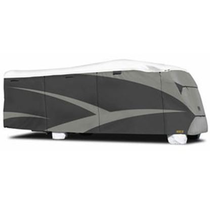 """Picture of ADCO Tyvek (R) Plus Gray Polypropylene Cover For 20' 1""""-23' Class C Motorhomes 34812 01-0118"""