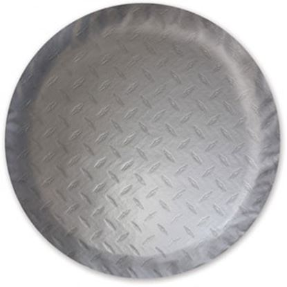 "Picture of ADCO  Steel Look 29-3/4"" Size-E Spare Tire Cover 9754 01-0219"