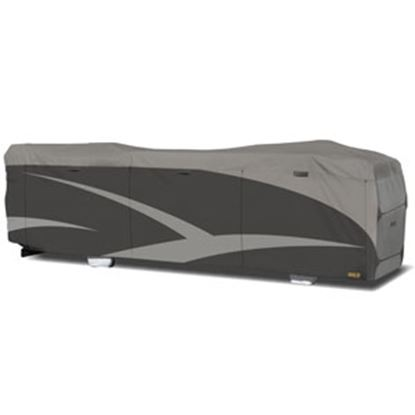 "Picture of ADCO Designer SFS Aquashed (R) Gray Fabric/Poly Cover For 28' 1""-31' Class A Motorhomes 52204 01-0228"