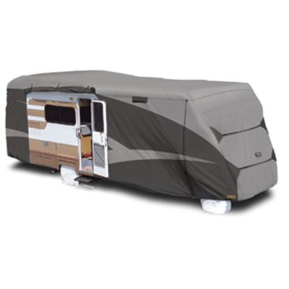 """Picture of ADCO Designer SFS Aquashed (R) Gray Fabric Cover For 26' 1""""-29' Class C Motorhomes 52844 01-0268"""