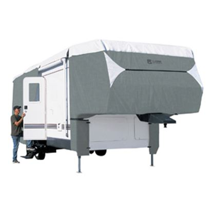 """Picture of Classic Accessories PolyPRO (TM) 3 Polypropylene Cover For 37'-41' L x 140"""" H 5th Wheel Trailers 75063 01-0358"""