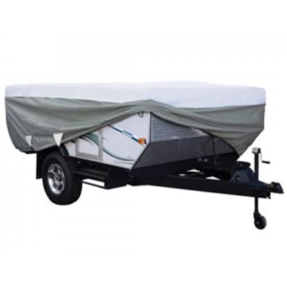 Picture of Classic Accessories PolyPRO (TM) 3 Poly Water Resistant RV Cover For 18-20' Folding Camper Trailers 80-043-193106-00 01-0395