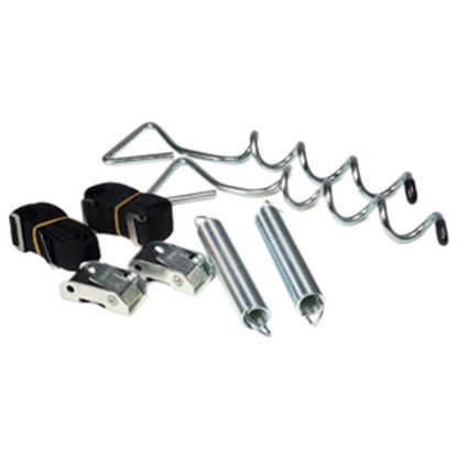 Picture of Camco  Corkscrew Ground Awning Anchor w/ Straps 42593 01-0681