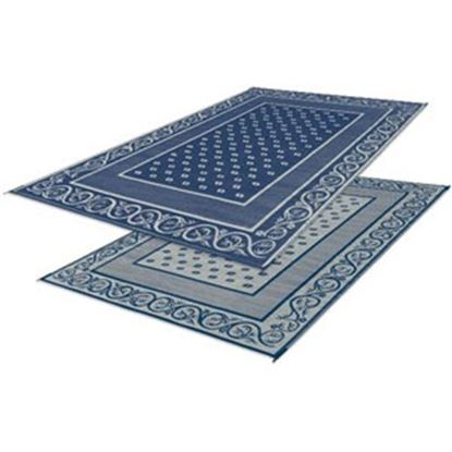 Picture of Faulkner  9' x 6' Blue Reversible Camping Mat 48698 01-0686