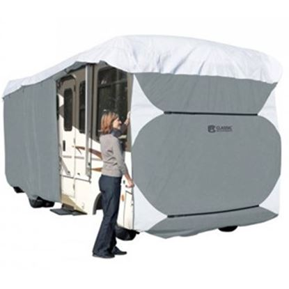 Picture of Classic Accessories PolyPRO (TM) 3 Polyester Water Resistant RV Cover For 24-28' Class A Motorhomes 80-334-163101-RT 01-0832