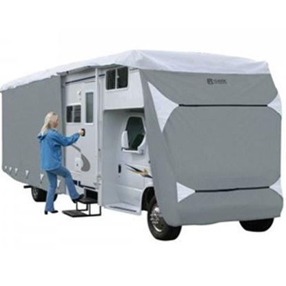 Picture of Classic Accessories PolyPRO (TM) 3 Polyester Water Resistant RV Cover For 32-35' Class C Motorhomes 80-344-193101-RT 01-0836