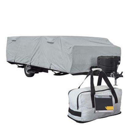 """Picture of Classic Accessories PermaPro RV Cover For 8' 6"""" Camper 80-400-301001-RT 01-0899"""