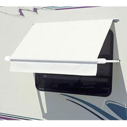 Picture of Carefree SimplyShade (R) White 5.0' DIY Window Awning WH0504F4FW 01-0988