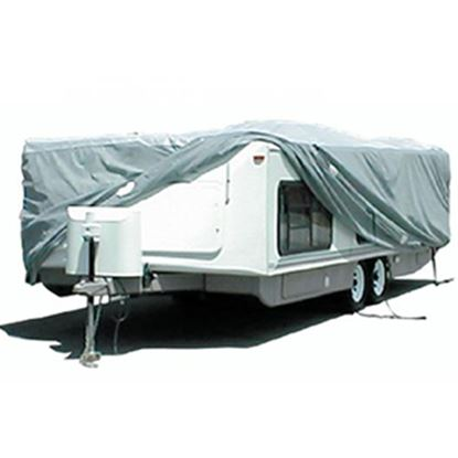 """Picture of ADCO SFS AquaShed (R) 312"""" L x 100"""" W x 60"""" H Cover For 22' 7""""-26' Hi-Lo Style Trailers 12253 01-1112"""
