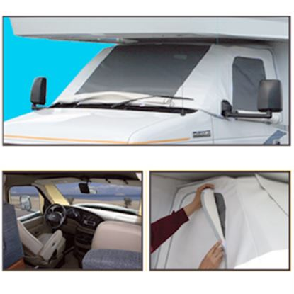 Picture of ADCO  Vinyl Windshield Cover For Class C & Class B Chevy Motorhomes 2509 01-1668