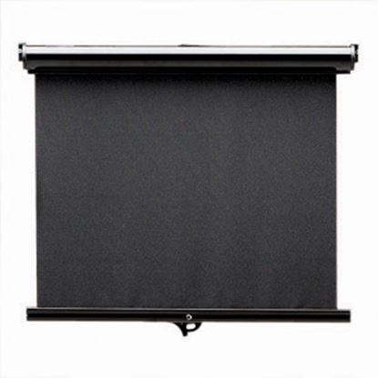 Picture of Carefree Maxi SmartVisor Manual Black Vinyl Right Side Control Windshield Shade JD043MA36-RP 01-2891