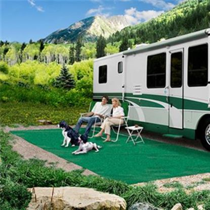 Picture of Prest-o-Fit  6' x 9' Green Camping Mat 2-0080 01-3000