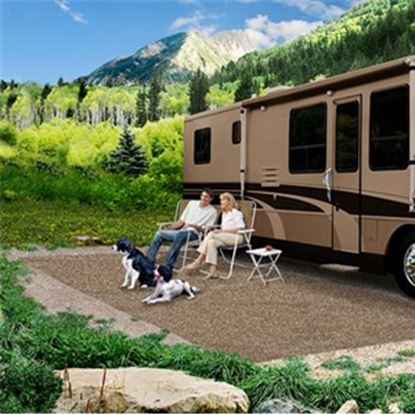 Picture of Prest-o-Fit  6' x 9' Brown Camping Mat 2-0081 01-3005