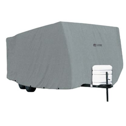 Picture of Classic Accessories PolyPRO (TM) 1 Polypropylene Water Repellent RV Cover For 27-30' Travel Trailers 80-178-181001-00 01-3744
