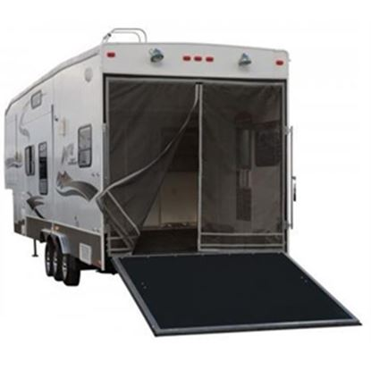 """Picture of Classic Accessories Poly 1 Rip & Grip Strip/Magnetic Opening 90-1/2""""H Trailer Tailgate Screen 79994 01-3781"""