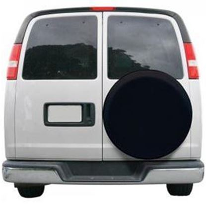 "Picture of Classic Accessories  Black 26-3/4"" to 29-3/4"" Diam Spare Tire Cover 75347 01-3802"