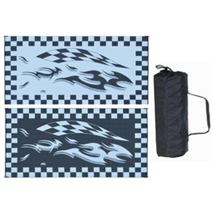 Picture of Ming's Mark  8' x 16' Black/White Reversible Camping Mat HB1 01-4989