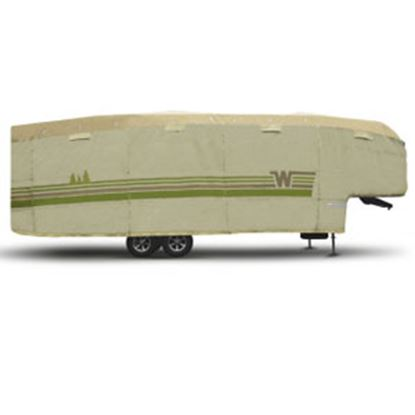 "Picture of ADCO Winnebago (TM) Tan Polypropylene Cover For 5th Wheel 23' 1""-25' 6"" Trailers 64852 01-8657"