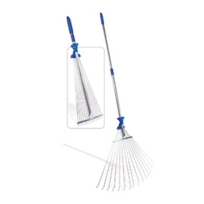 """Picture of Camco  60""""L Handle x 22""""W Head Collapsible Rake 42171 02-0560"""