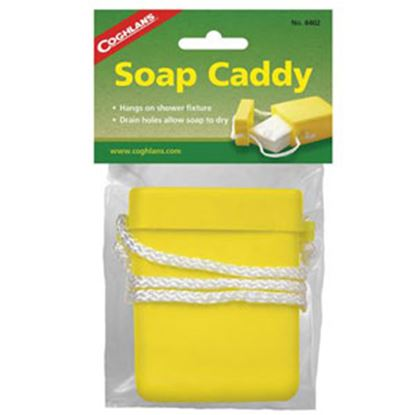 Picture of Coghlan's  Yellow Plastic Box Style Soap Holder 8402 03-0042