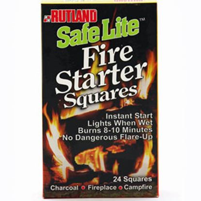 Picture of Rutland Products Safe Lite (R) 24-Pack Campfire Starter 50C 03-0066