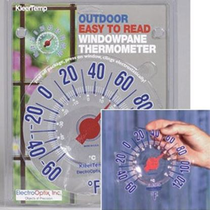 Picture of Electro Optix KleerTemp Analog Electrostatic Mount Outdoor Thermometer KT-S 03-0212