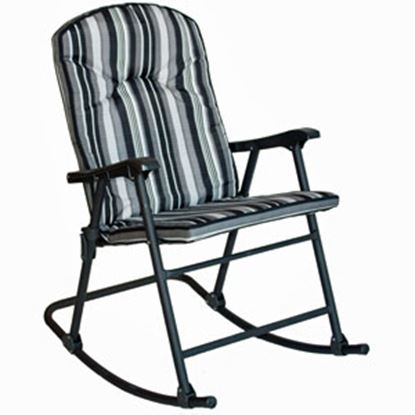 Picture of Prime Products Cambria Cobalt Padded Rocker Chair 13-6808 03-0294