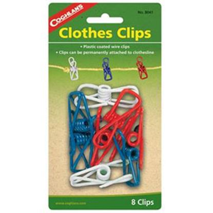 Picture of Coghlan's  8-Pack Plastic Clothespin 8041 03-0303
