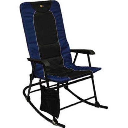 Picture of Faulkner  Black/Black Dakota Folding Rocking Chair 49598 03-0334