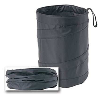 Picture of Hopkins Space Saver Trash Can (TM) Tall Pop-Up Trash Can TRASH13-BLA-PDQ 03-0364