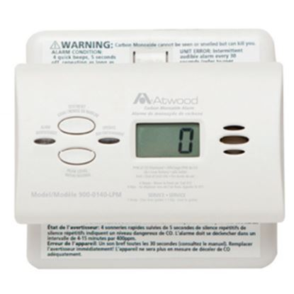 Picture of Dometic  White Battery Carbon Monoxide Detector w/ Display 32703 03-0546