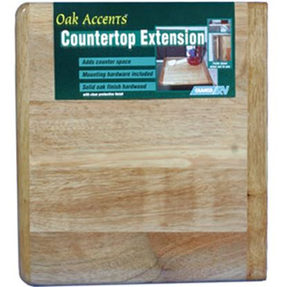 Picture of Camco  Oak Piano Hinge Mount Counter Top Extension 43421 03-0562