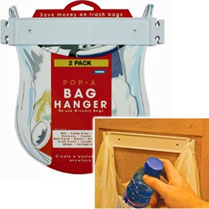Picture of Camco Pop-A-Bag Double Sided Tape Mount Bag Holder 43593 03-0859
