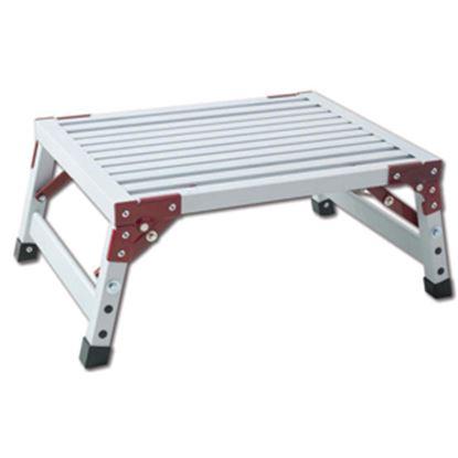 "Picture of GP Logistics  8-3/4""H Aluminum Folding Step Stool H-21 03-0896"