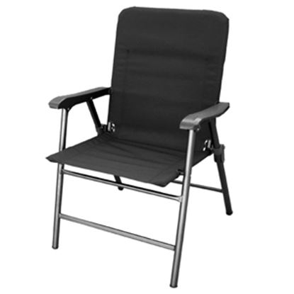 Picture of Prime Products Elite(TM) Baja Black Folding Chair 13-3349 03-0917