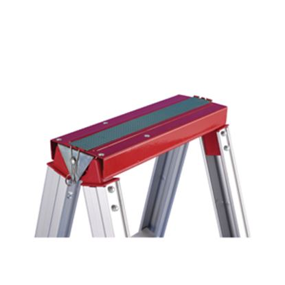 Picture of GP Logistics  Red Steel Top Mount Ladder Accessory Shelf RED TOP 03-1019