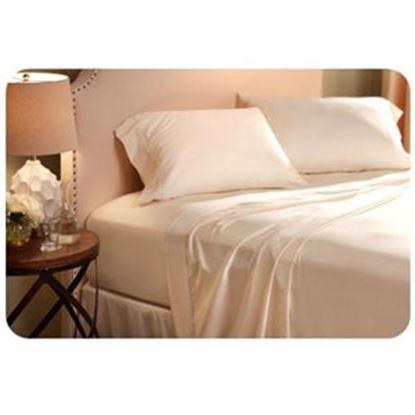 "Picture of Denver Mattress  Ivory 35-48""W x 70-75""L 3-Quarter Bed Sheet 343531 03-1070"