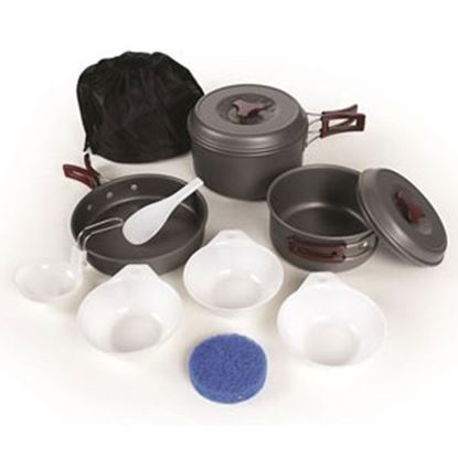 Picture of Camco  Anodized Aluminum Cookware Set 51312 03-1466