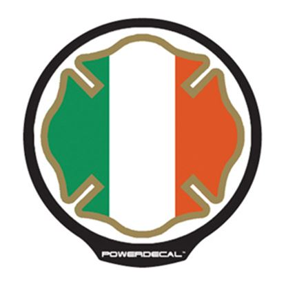 Picture of PowerDecal  Irish Maltese Flag Powerdecal FFPWR005 03-1688
