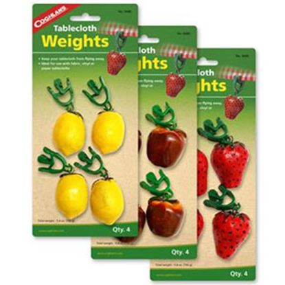 Picture of Coghlan's  4-Pack 5.4 Oz Clip On Picnic Basket Type Tablecloth Weight 0680 03-1908