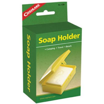 Picture of Coghlan's  Yellow Plastic Box Style Soap Holder 658 03-1921