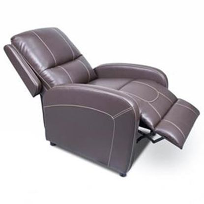 Picture of Lippert Thomas Payne Collection Majestic Chocolate PolyHyde (TM) Pushback Recliner 377054 03-2063