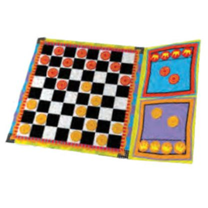 Picture of Poof-Slinky Ideal (R) Magnetic-Go Checkers Board Game For 2 Players Ages 5 And Up 8-32505TL 03-2264