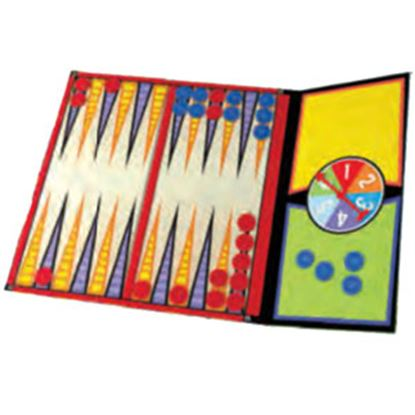 Picture of Poof-Slinky Ideal (R) Magnetic-Go Backgammon Board Game For 2 Players Ages 5 And Up 8-32507TL 03-2266