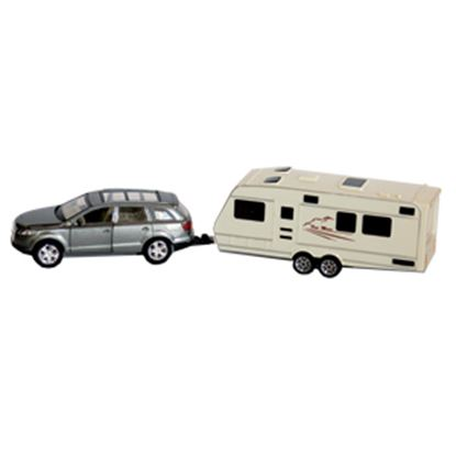 Picture of Prime Products  1:48 Scale SUV And Trailer Action Model Vehicle 27-0026 03-3012