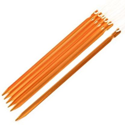 """Picture of Camco  6-Pack 12"""" Aluminum Tent Peg 51106 03-6551"""